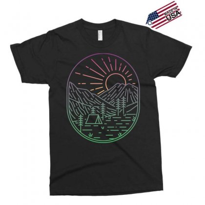 Great Sunrise Exclusive T-shirt Designed By Quilimo