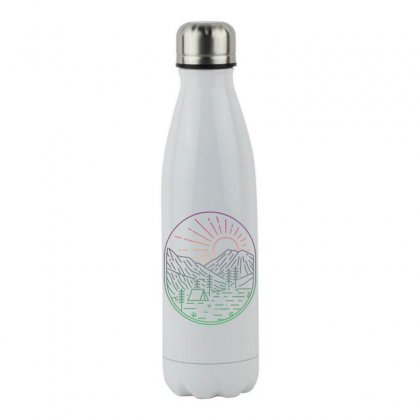 Great Sunrise Stainless Steel Water Bottle Designed By Quilimo