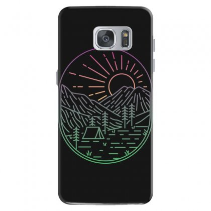 Great Sunrise Samsung Galaxy S7 Case Designed By Quilimo