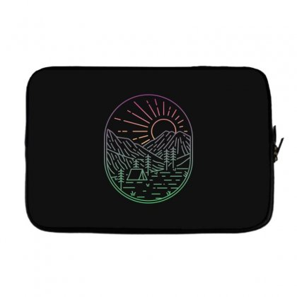 Great Sunrise Laptop Sleeve Designed By Quilimo