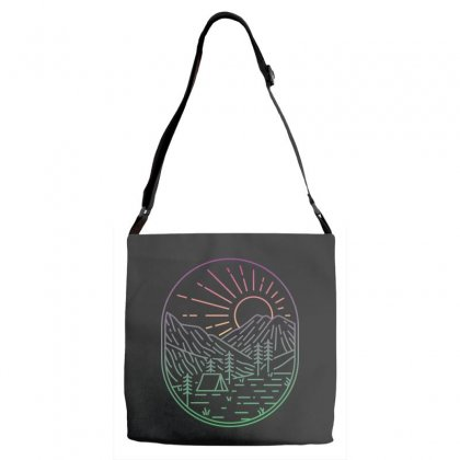 Great Sunrise Adjustable Strap Totes Designed By Quilimo