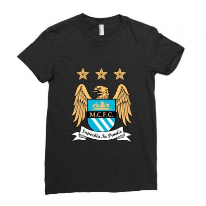 Mantchester City Ladies Fitted T-shirt Designed By Zein