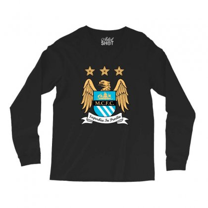 Mantchester City Long Sleeve Shirts Designed By Zein