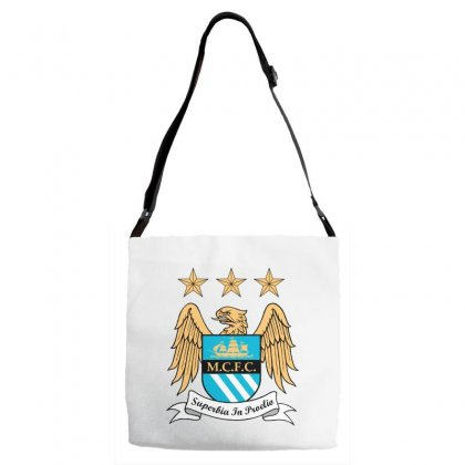 Mantchester City Adjustable Strap Totes Designed By Zein