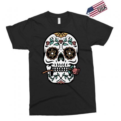 Mexican Skull Exclusive T-shirt Designed By Quilimo