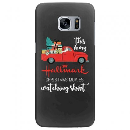 This Is My Hallmark Christmas Movies Watching Samsung Galaxy S7 Edge Case Designed By Mirazjason