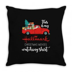 this is my hallmark christmas movies watching Throw Pillow | Artistshot
