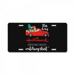 this is my hallmark christmas movies watching License Plate | Artistshot