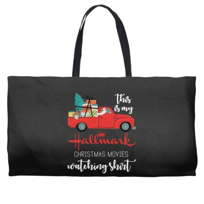 This Is My Hallmark Christmas Movies Watching Weekender Totes Designed By Mirazjason