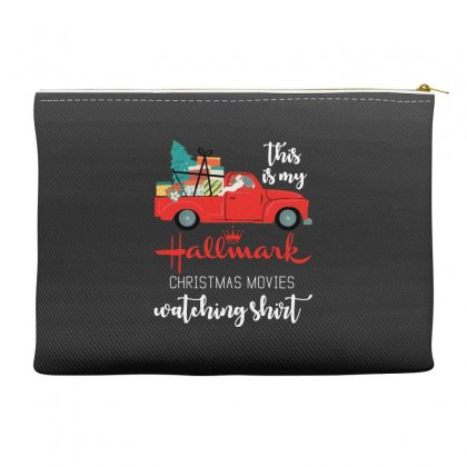 This Is My Hallmark Christmas Movies Watching Accessory Pouches Designed By Mirazjason