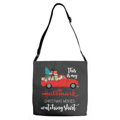 This Is My Hallmark Christmas Movies Watching Adjustable Strap Totes Designed By Mirazjason