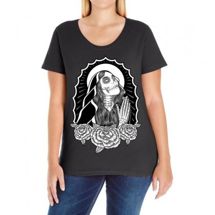 Repent Before Dying Ladies Curvy T-shirt Designed By Quilimo