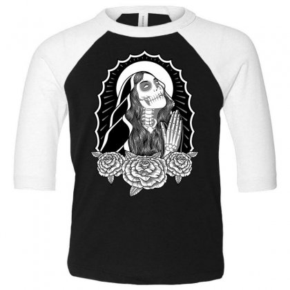 Repent Before Dying Toddler 3/4 Sleeve Tee Designed By Quilimo