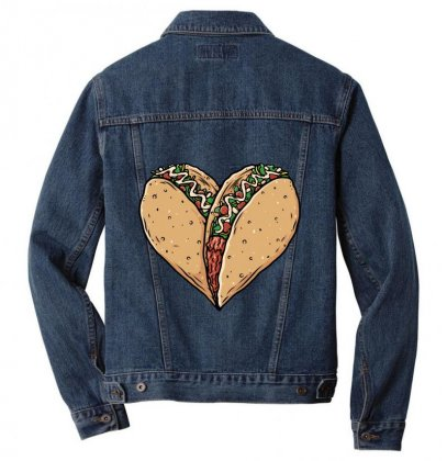 Tacos Lover Men Denim Jacket Designed By Quilimo