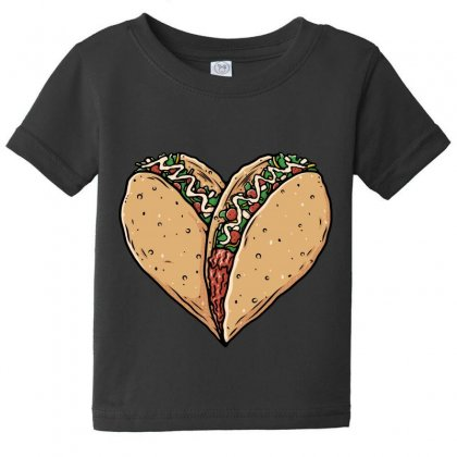 Tacos Lover Baby Tee Designed By Quilimo