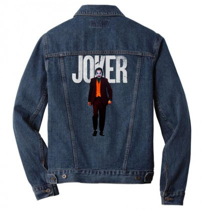 Joker Men Denim Jacket Designed By Vignesh Bvr