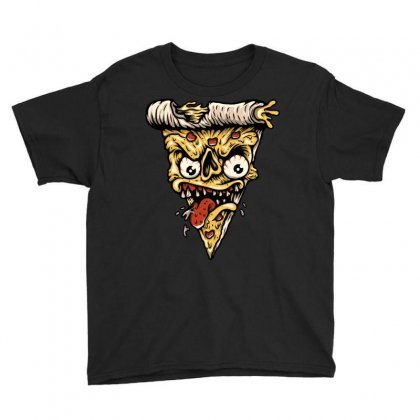 Pizza Monster Youth Tee Designed By Quilimo