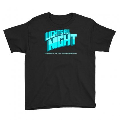 Lights All Night Festival 2019 Youth Tee Designed By Cahayadianirawan