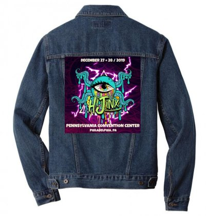 Hijinx Festival 2019 Men Denim Jacket Designed By Cahayadianirawan