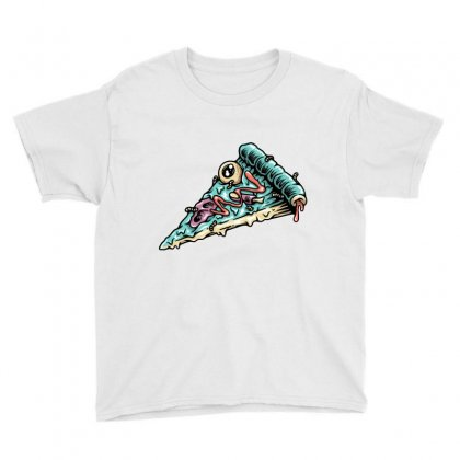 Pizza Zombie Youth Tee Designed By Quilimo