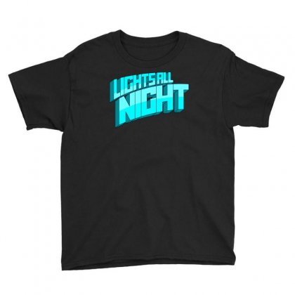 Lights All Night Festival Logo Youth Tee Designed By Cahayadianirawan