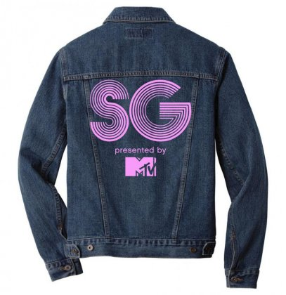 Snowglobe Festival Logo Men Denim Jacket Designed By Cahayadianirawan