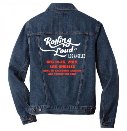 Rolling Loud Los Angeles Festival 2019 Men Denim Jacket Designed By Cahayadianirawan