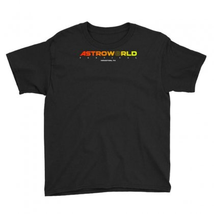 Astroworld Festival At Houston Texas Youth Tee Designed By Cahayadianirawan