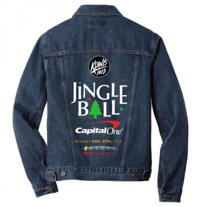 Kdwb101.3 Jingle Ball Festival 2019 Men Denim Jacket Designed By Cahayadianirawan