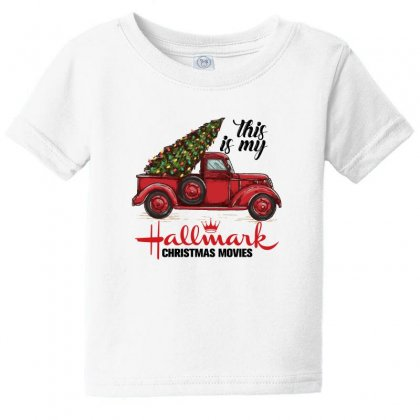 This Is My Hallmark Christmas Movies Baby Tee Designed By Gurkan