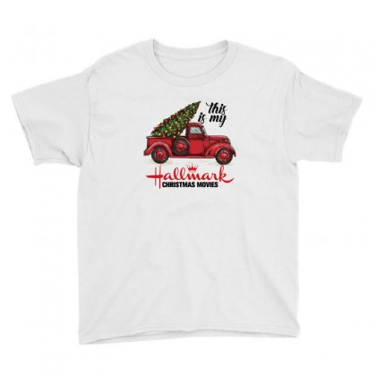 This Is My Hallmark Christmas Movies Youth Tee Designed By Gurkan