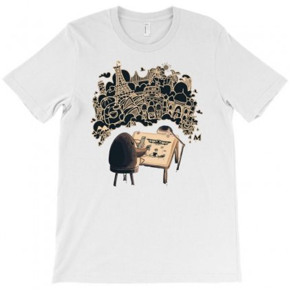 Travel Plans T-shirt Designed By Dameart