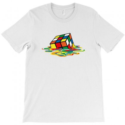 Rainbow Abstraction T-shirt Designed By Ratna Tier