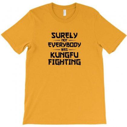Surely Not Everybody Was Kung Fu Fighting Origin T-shirt Designed By Ratna Tier