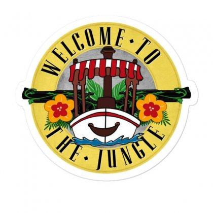 Welcome To The Jungle Sticker Designed By Mirazjason