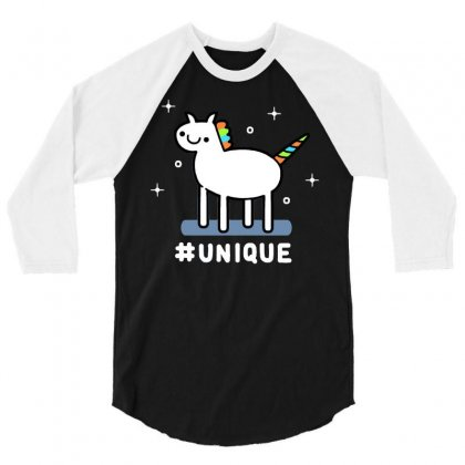 Unique 3/4 Sleeve Shirt Designed By Dameart