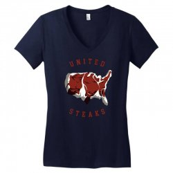 united steaks Women's V-Neck T-Shirt | Artistshot