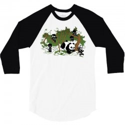 unstealthiest ninja  when animals attack 3/4 Sleeve Shirt | Artistshot