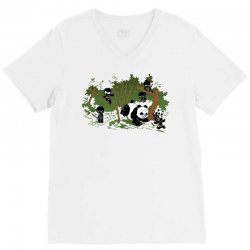 unstealthiest ninja  when animals attack V-Neck Tee | Artistshot