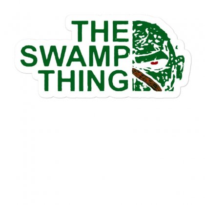 The Swamp Thing Sticker Designed By Mirazjason