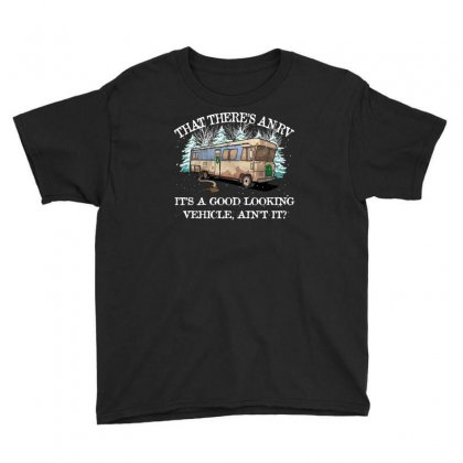 Christmas Vacation Eddie's Rv Youth Tee Designed By Sengul