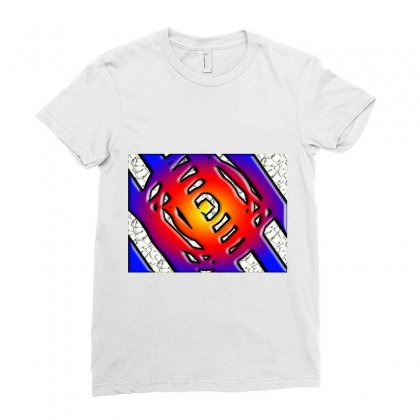Digital Art Ladies Fitted T-shirt Designed By Stan01