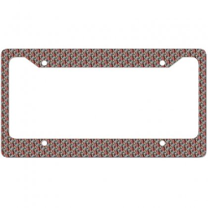 Woman Cover License Plate Frame Designed By Zein