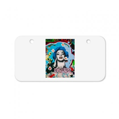 Marilyn Monroe Bicycle License Plate Designed By Zein