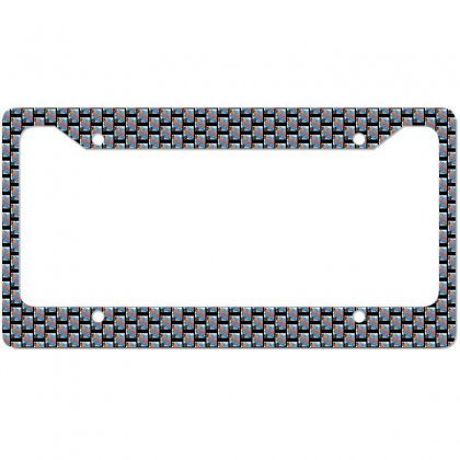 Paint License Plate Frame Designed By Zein