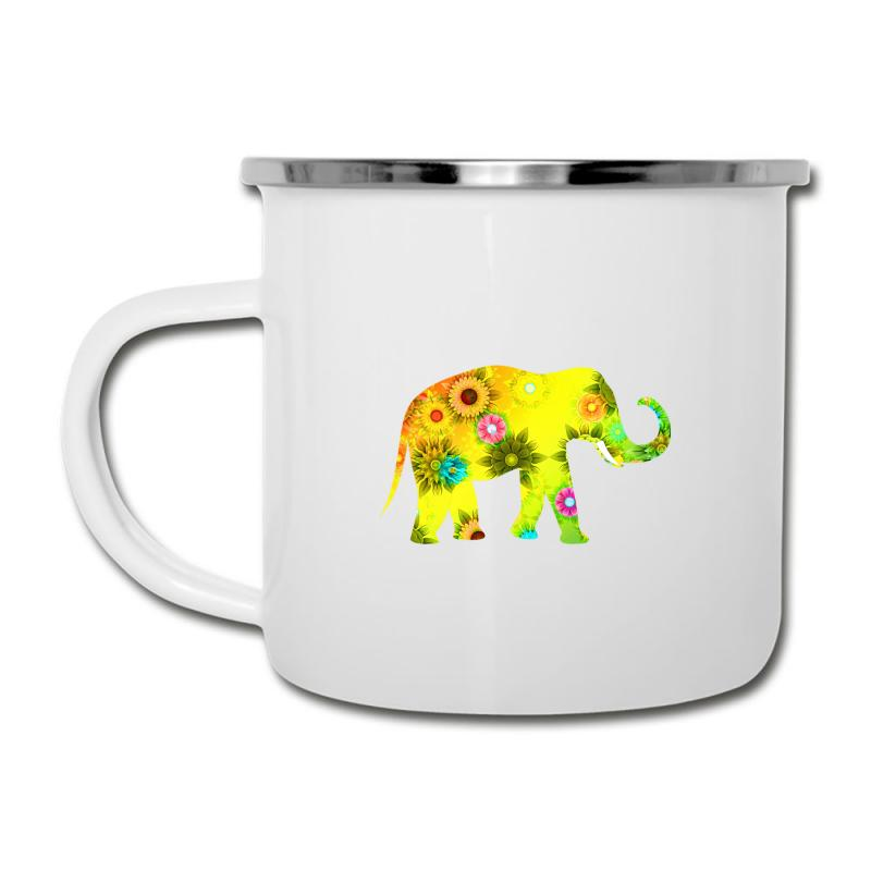 Colored Elephant Camper Cup | Artistshot