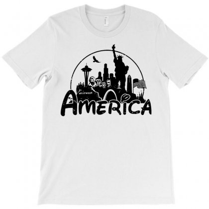 Welcome To America T-shirt Designed By Dameart
