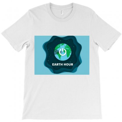 Earth Hour T-shirt Designed By Trendy Boy