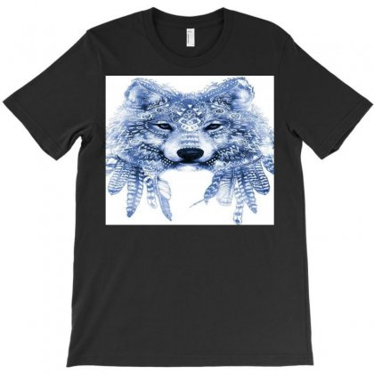 Ancient Wolf Art T-shirt Designed By Trendy Boy