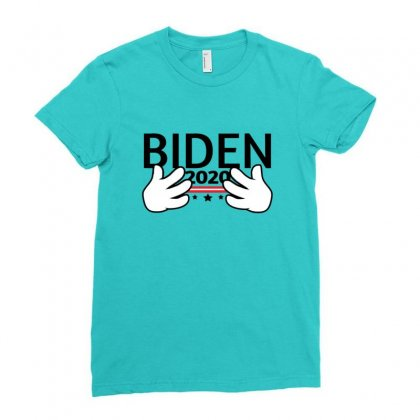 Joe Biden 2020 Campaign Political Satire Ladies Fitted T-shirt Designed By Sr88